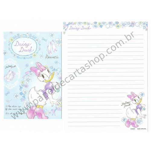 Conjunto de Papel de Carta Disney Daisy Duck (AZ)