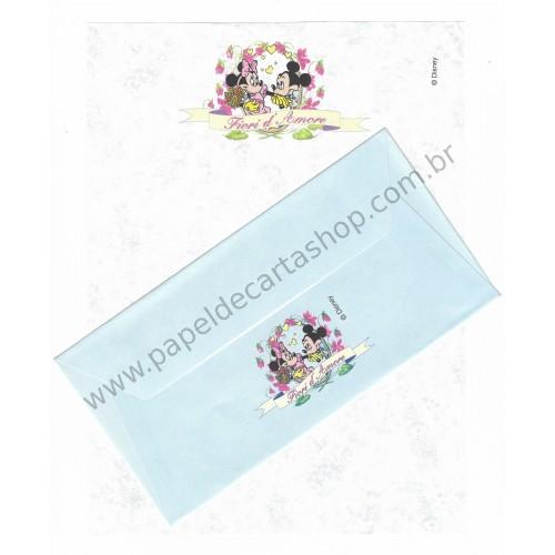 Conjunto de Papel de Carta VINTAGE DISNEY - Fiori d' Amore