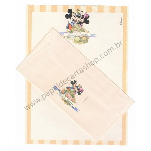 Conjunto de Papel de Carta VINTAGE Disney - Fiori d'Amore 3