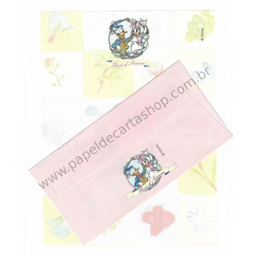 Conjunto de Papel de Carta VINTAGE Disney - Fiori d'Amore 2