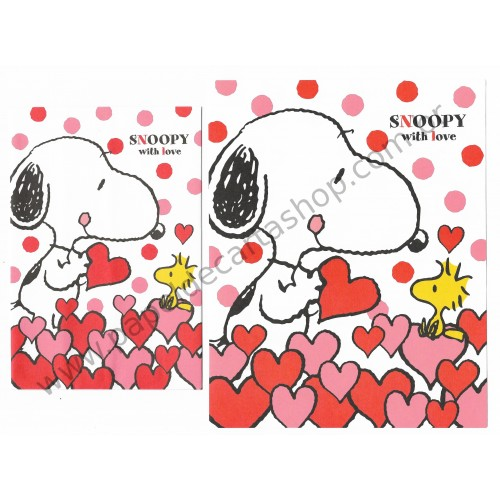 Conjunto de Papel de Carta Snoopy with Love - Peanuts