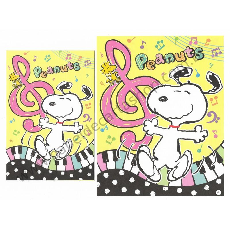 Conjunto de Papel de Carta Snoopy with Music - Peanuts