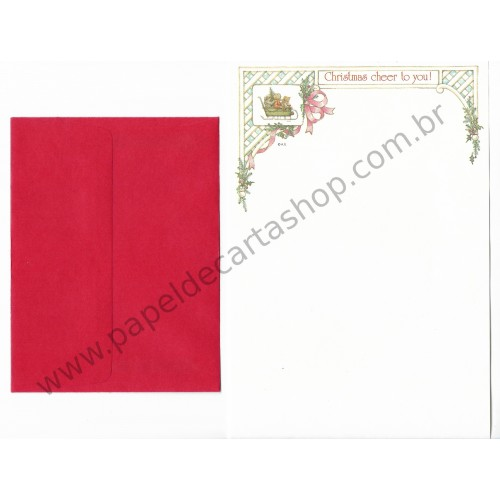 Conjunto de Papel de Carta ANTIGO Holly Hobbie M28