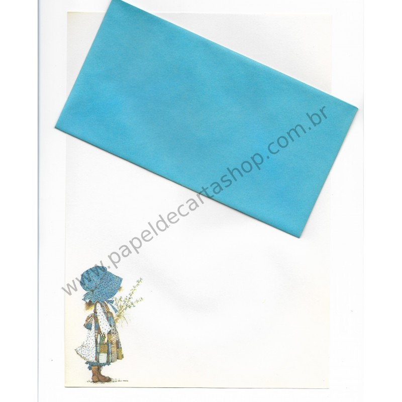 Conjunto de Papel de Carta Holly Hobbie - M5