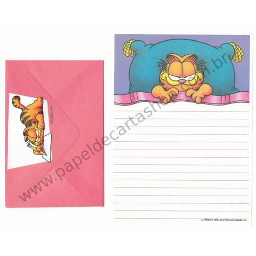 Conjunto de Papel de Carta Garfield Catnaps 02 - Paws