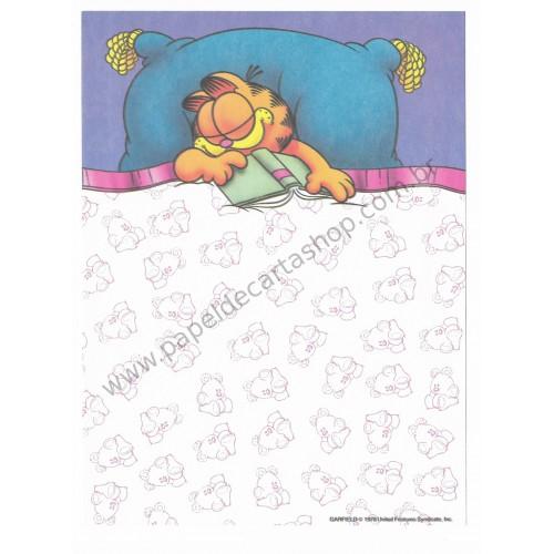Papel de Carta Avulso Garfield Catnaps 1 - Paws
