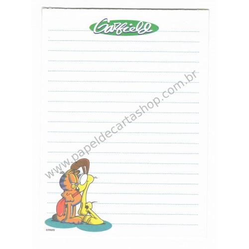 Papel de Carta Avulso Garfield - Paws
