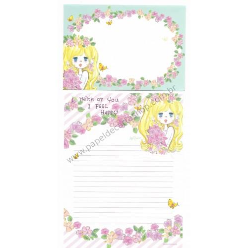 Conjunto de Papel de Carta com envelope ADO MIZUMORI 0003