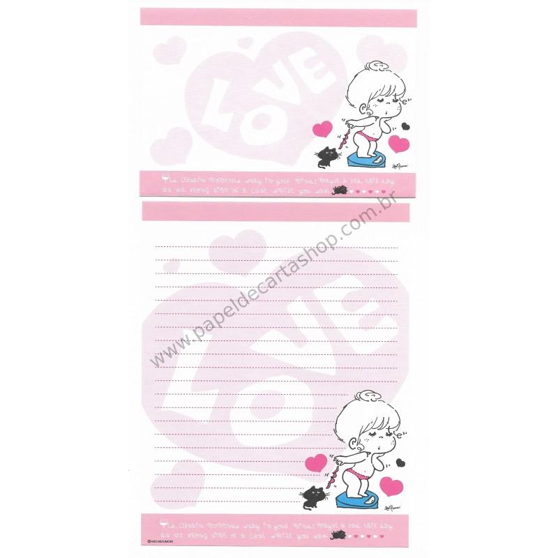 Conjunto de Papel de Carta com envelope ADO MIZUMORI 0015