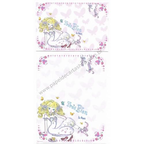 Conjunto de Papel de Carta com envelope ADO MIZUMORI 0019