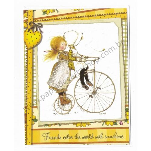 Cartão ANTIGO HOLLY HOBBIE P10