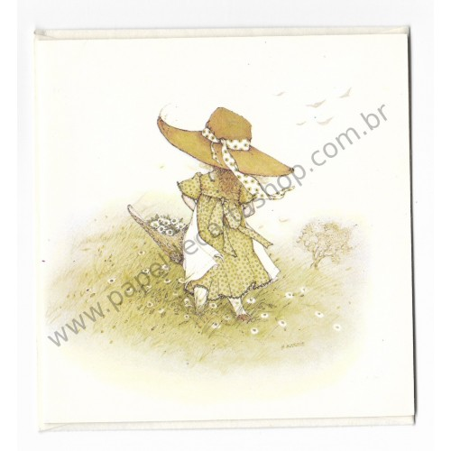 Notecard Antigo Holly Hobbie 7 - American Greetings