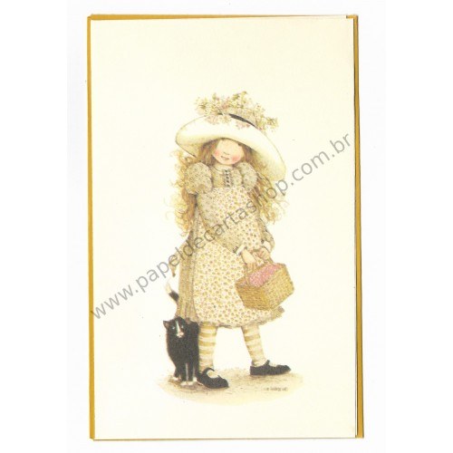 Notecard Antigo Holly Hobbie 12 - American Greetings
