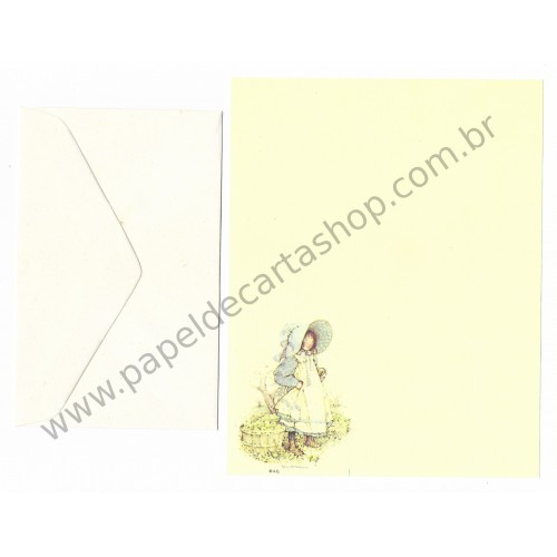 Conjunto de Papel de Carta Holly Hobbie M38