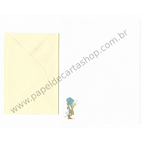 Conjunto de Papel de Carta Holly Hobbie M42