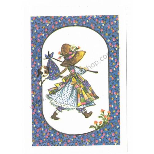 Cartão Postal Holly Hobbie AZ