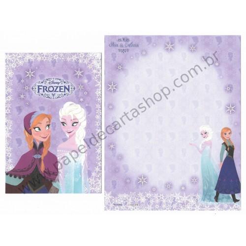 Conjunto de Papel de Carta Disney Frozen LL