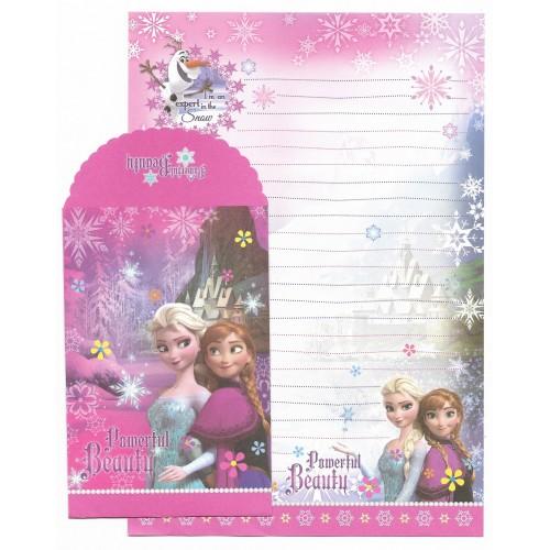 Conjunto de Papel de Carta Grande Disney Frozen - Powerfull Beauty