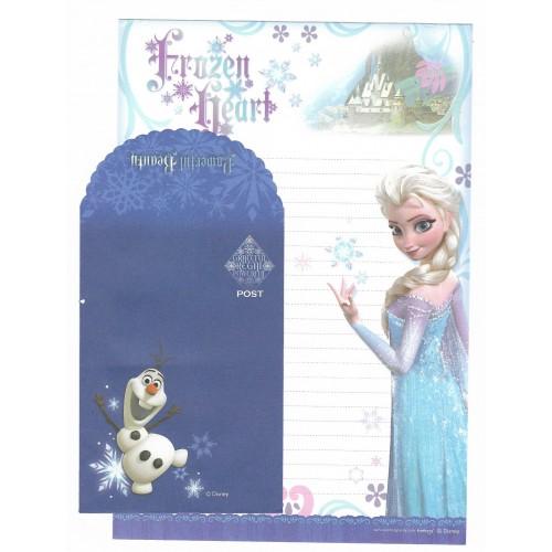 Conjunto de Papel de Carta Grande Disney Frozen - Frozen Heart