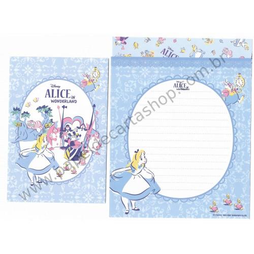 Conjunto de Papel de Carta Disney Alice in Worderland (Dupla)