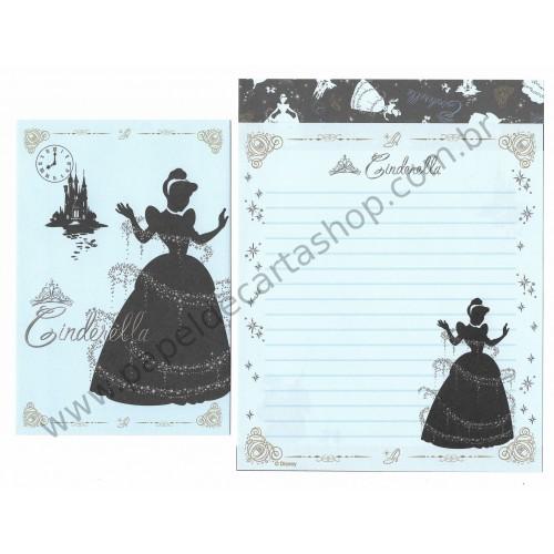 Conjunto de Papel de Carta Disney Cinderella (Dupla)