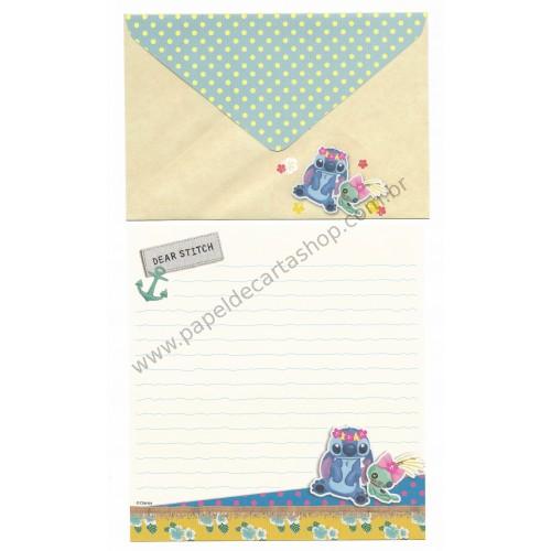 Conjunto de Papel de Carta Disney Dear Stitch AM