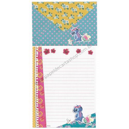 Conjunto de Papel de Carta Disney Dear Stitch RS