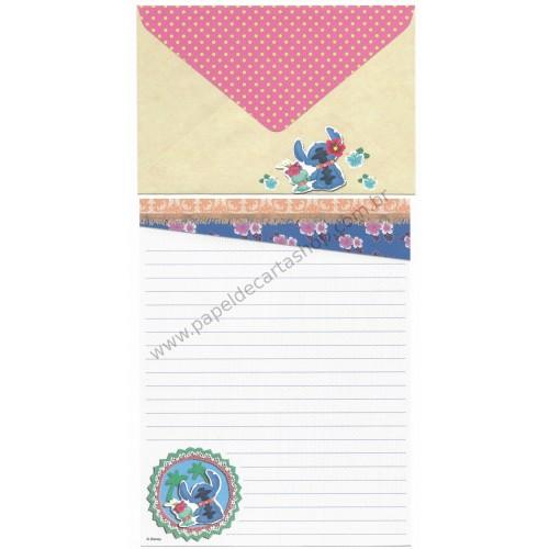 Conjunto de Papel de Carta Disney Dear Stitch AZ