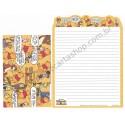 Conjunto de Papel de Carta Disney Winnie the Pooh (LA2) - Kamio