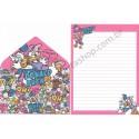 Conjunto de Papel de Carta Donald & Daisy (CRS)