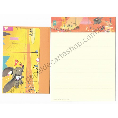 Conjunto de Papel de Carta Disney Dumbo Sun-Star