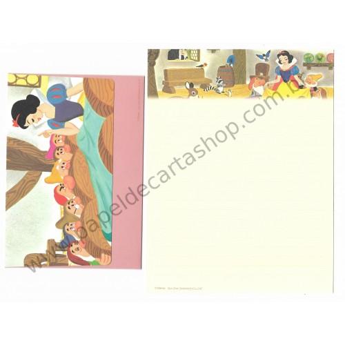 Conjunto de Papel de Carta Disney Snow White & The Seven Dwarfs Sun-Star