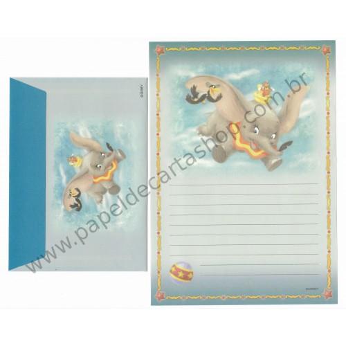 Conjunto de Papel de Carta Disney Dumbo
