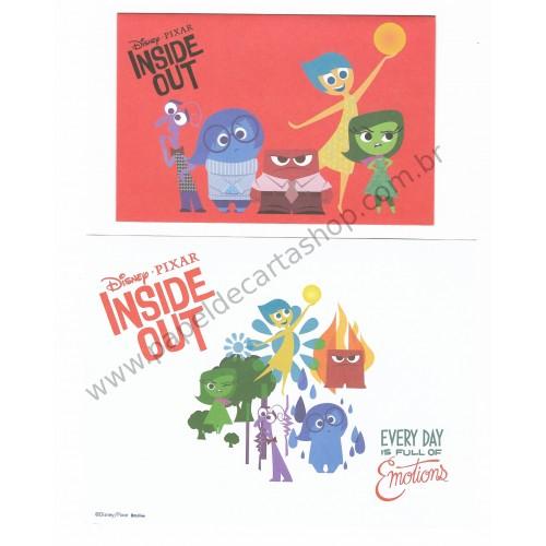 Conjuntos de Papéis de Carta Disney/Pixar Inside Out (Divertidamente)