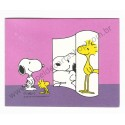 Notecard ANTIGO Snoopy Mirror Hallmark Crown