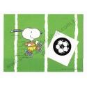 Postalete ANTIGO COM SELINHO PARA COLAR Snoopy Football