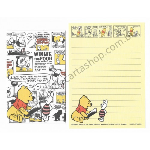 Conjunto de Mini Papel de Carta Disney Pooh 2