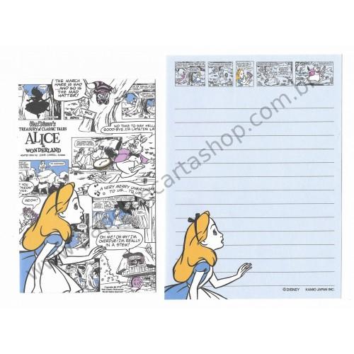 Conjunto de Mini Papel de Carta Disney Alice 2