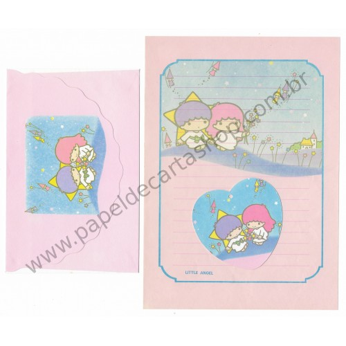 Conjunto de Papel de Carta Antigo Little Angel (RS)