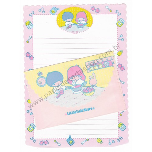 Conjunto de Papel de Carta Antigo Little Twin Stars (AM)