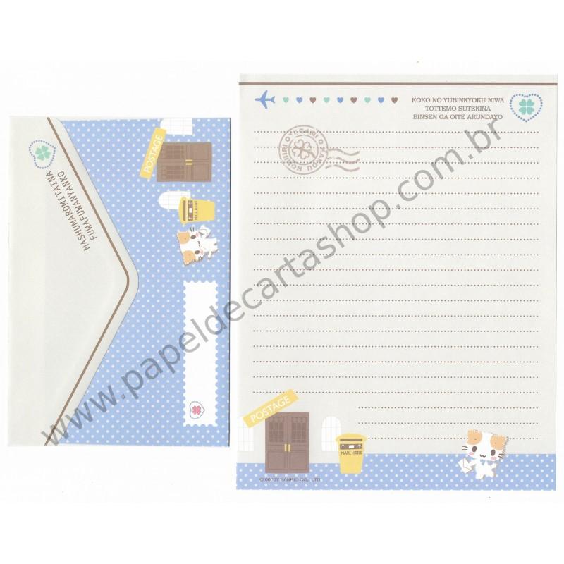 Ano 2007. Conjunto de Papel de Carta Postage Sanrio