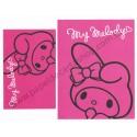 Ano 2012. Conjunto de Papel de Carta My Melody Pink Preto Sanrio