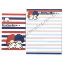Ano 2014. Kit 2 Conjuntos de Papel de Carta Little Twin Stars VMAZ Sanrio
