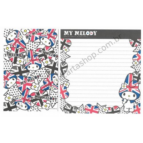 Ano 2011. Conjunto de Papel de Carta My Melody CBL1 Sanrio