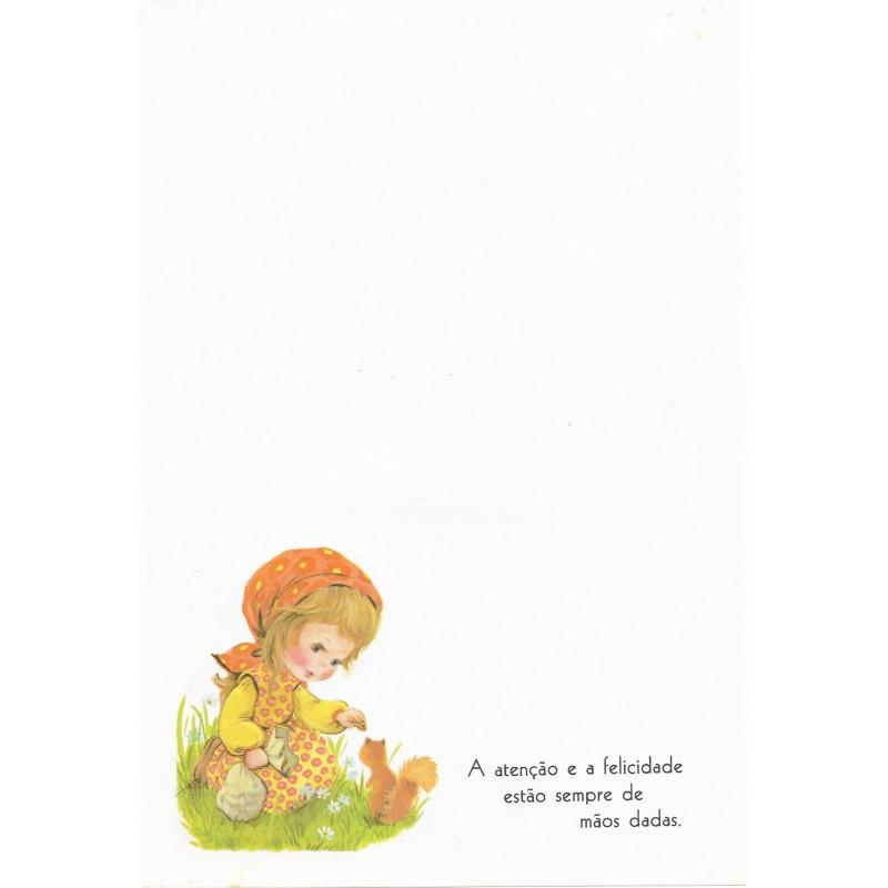 Coleção Paula H01. Papel de Carta Avulso