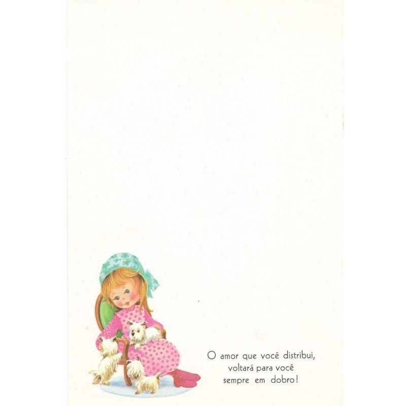 Coleção Paula H03. Papel de Carta Avulso