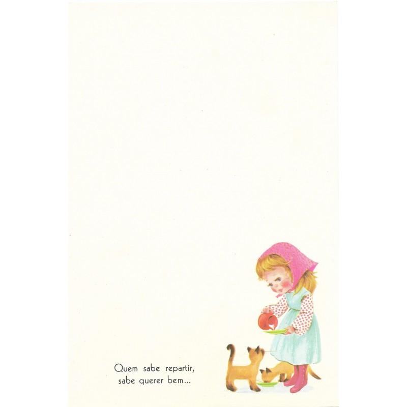 Coleção Paula H05. Papel de Carta Avulso