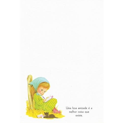 Coleção Paula H07. Papel de Carta Avulso