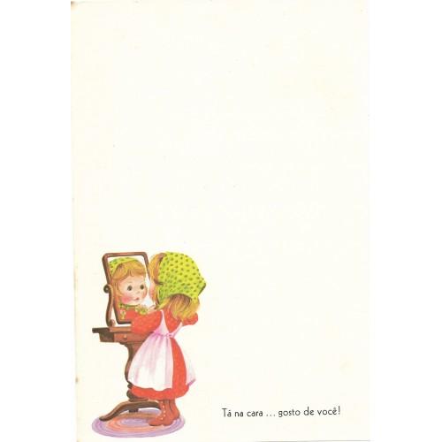 Coleção Paula H08. Papel de Carta Avulso