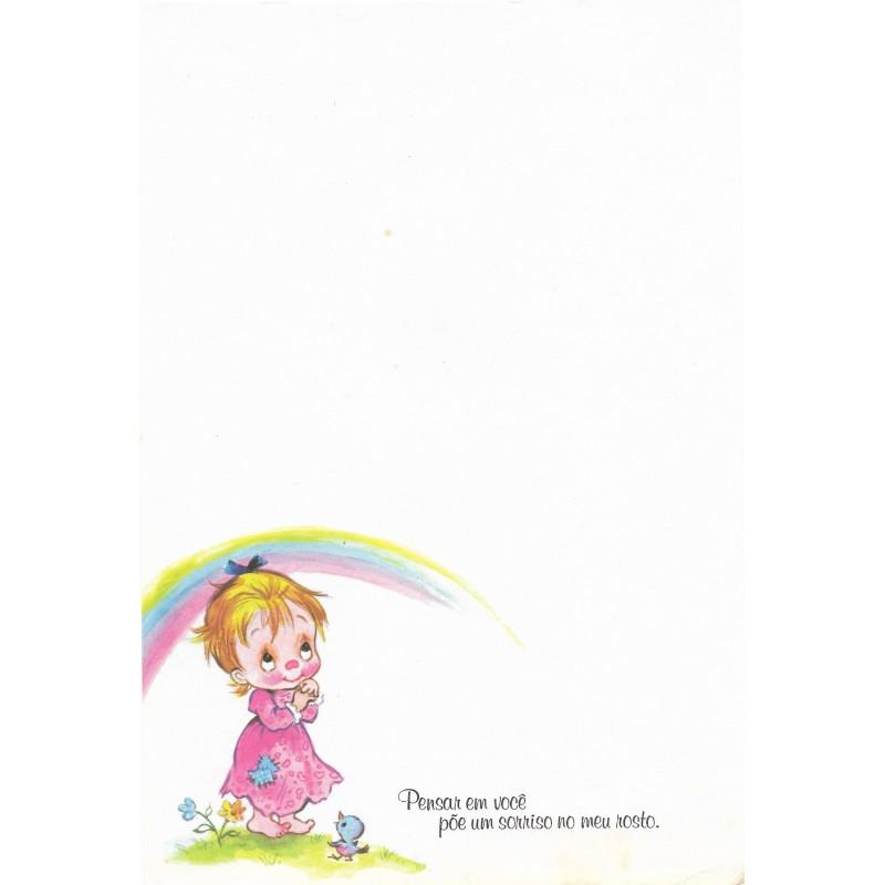 Coleção Paula L01. Papel de Carta Avulso
